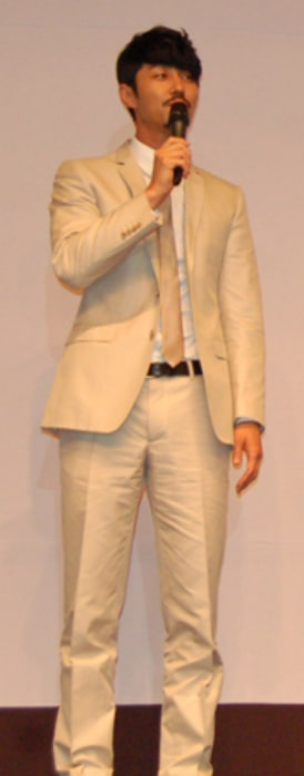 Cha Seung-won as seen while speaking during an event in June 2010