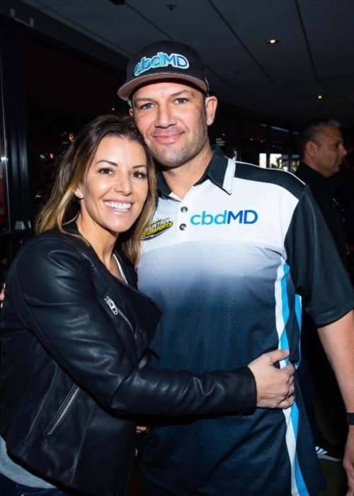 Chad Reed and Ellie Brady, as seen in February 2020