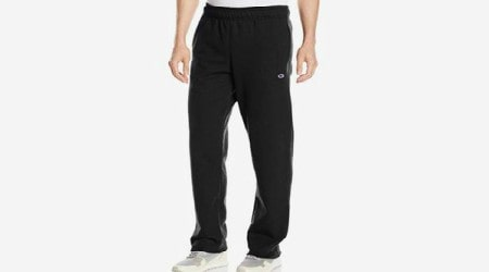 Champion Men's Open Bottom Light Weight Jersey Pant Review