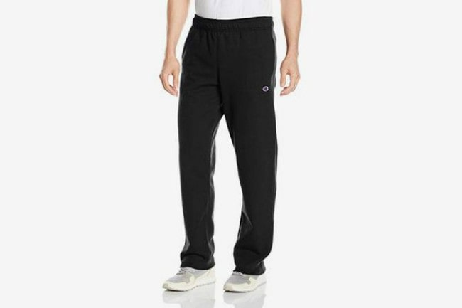 Champion Men's Open Bottom Light Weight Jersey Pant