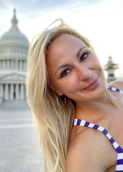Christi Lukasiak as seen in a picture taken in United States Capitol in Washington, D.C., United States in April 2020