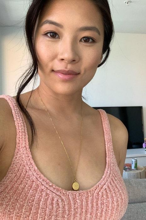 Christine Ko as seen in a selfie in October 2019