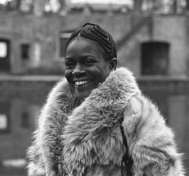 Cicely Tyson as seen in February 1973