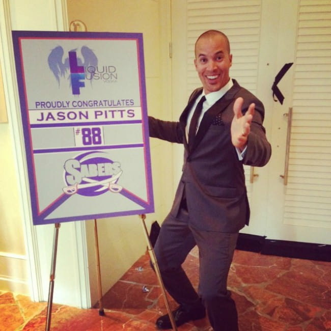 Coby Bell in an Instagram post in March 2014