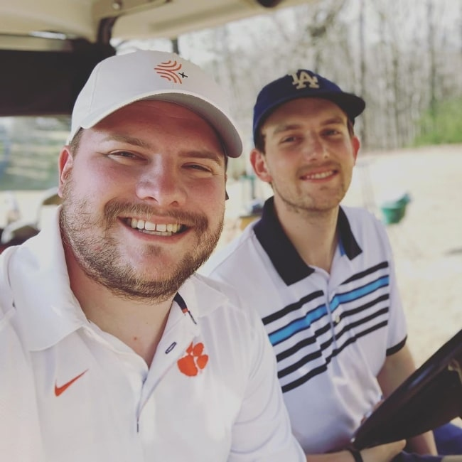 Codi Butts (Left) as seen while smiling in a selfie alongside Conner Smith in March 2020