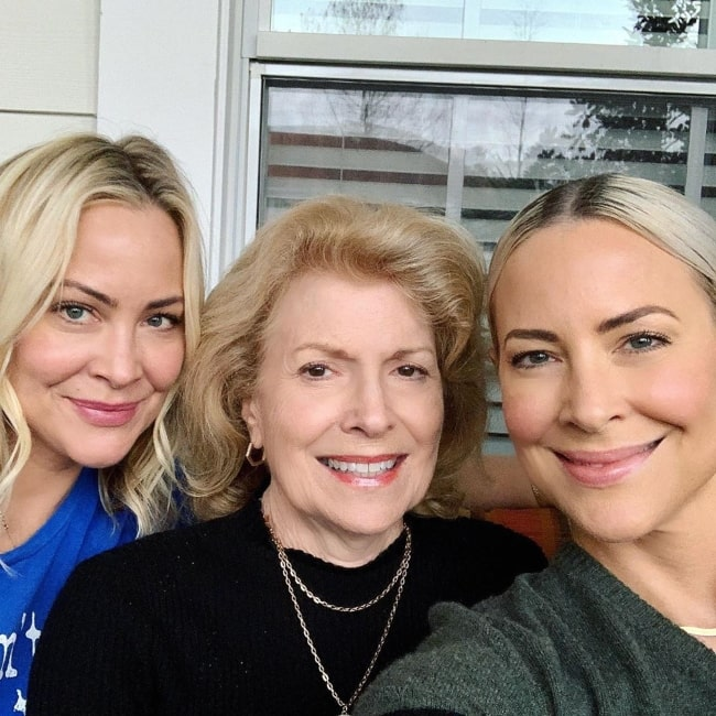Cynthia Daniel as seen in a selfie taken with her mother Carol and sisters Cynthia Daniel in March 2020