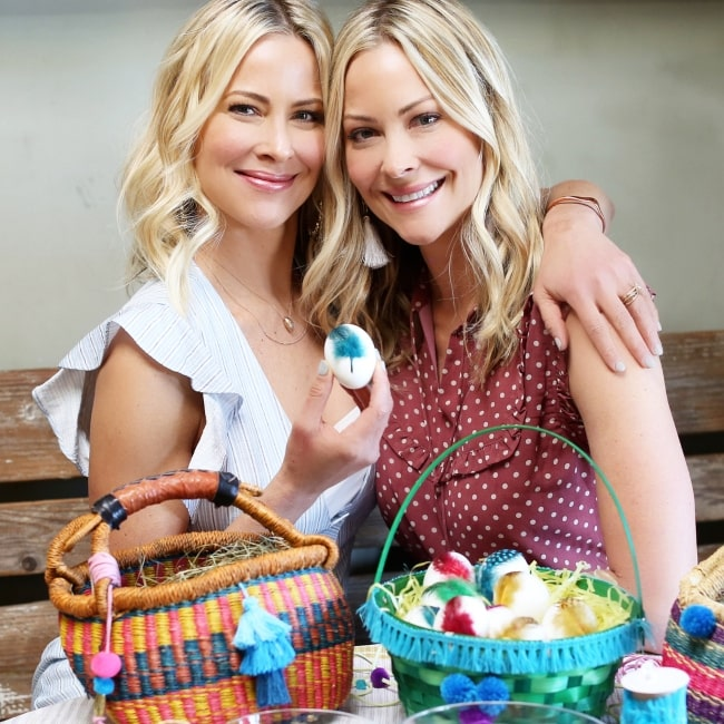 Cynthia Daniels as seen in a picture taken with her sister Brittany Daniel in March 2018