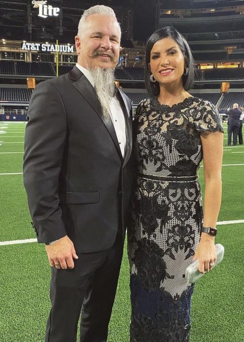 Dana Loesch and Chris Loesch, as seen in February 2020