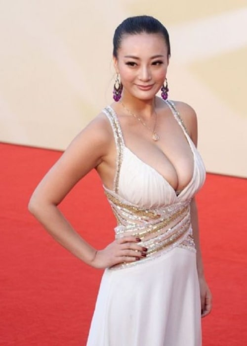 Daniella Wang as seen in a picture taken at a red carpet event in the past