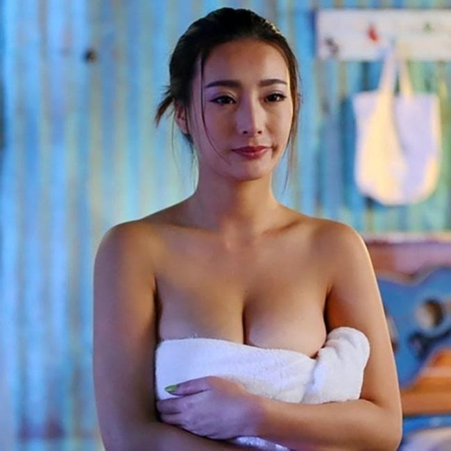 Daniella Wang as seen in a screenshot taken from a film of hers