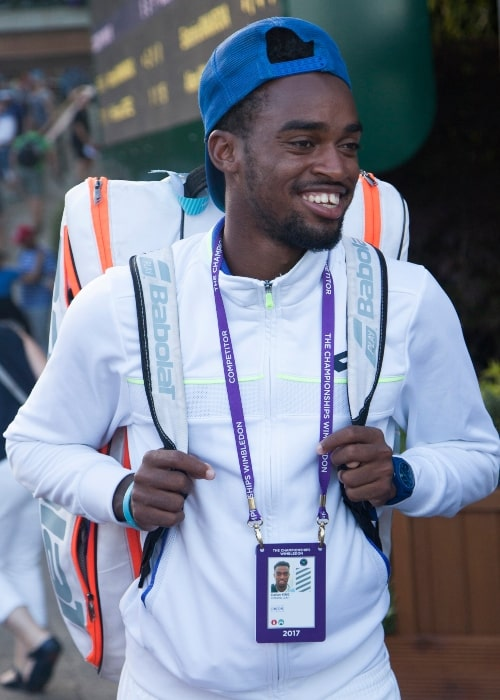 Darian King as seen in a picture taken at The Championships Wimbledon on July 7, 2017