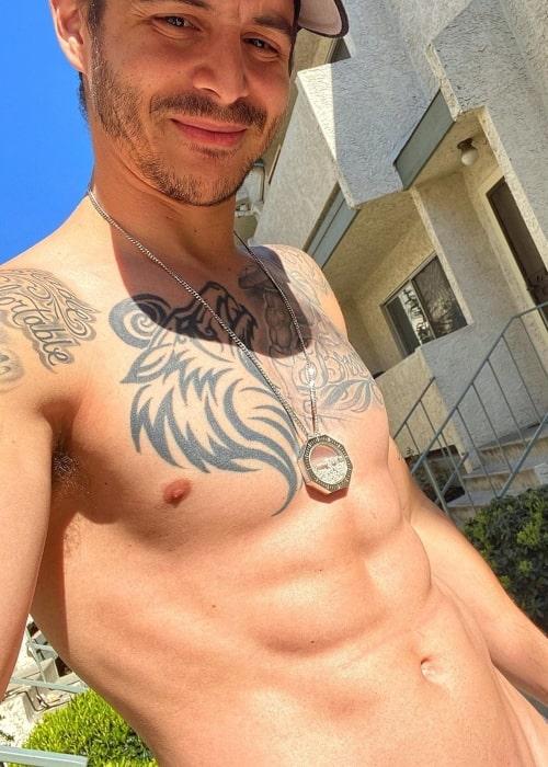 David Rodriguez as seen in a selfie taken in April 2020
