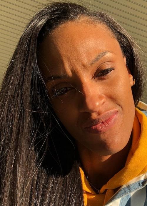 DeWanna Bonner as seen in an Instagram Post in February 2019