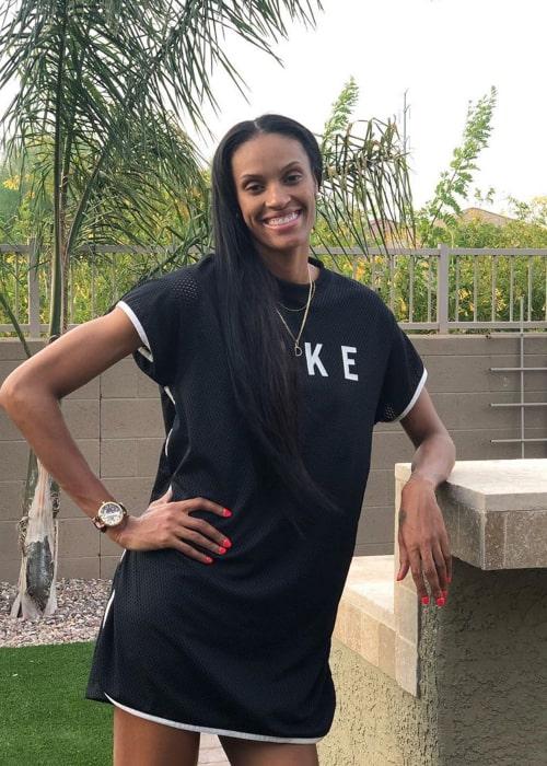 DeWanna Bonner as seen in an Instagram Post in July 2019