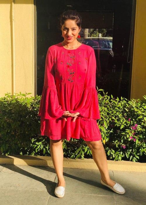 Deepika Singh as seen in April 2020