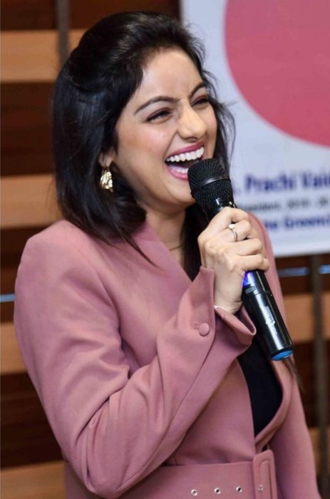 Deepika Singh at an event in March 2020