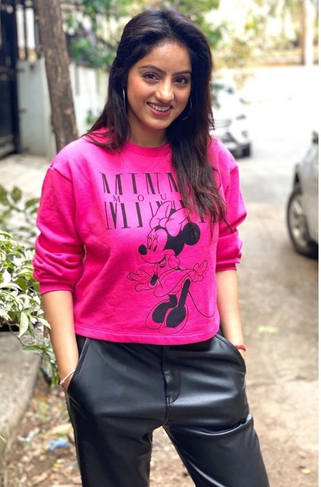 Deepika Singh in a casual picture from March 2020.
