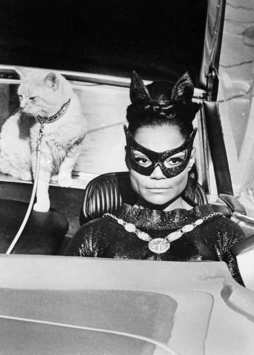 Eartha Kitt as Catwoman from the television series 'Batman' in December 1967