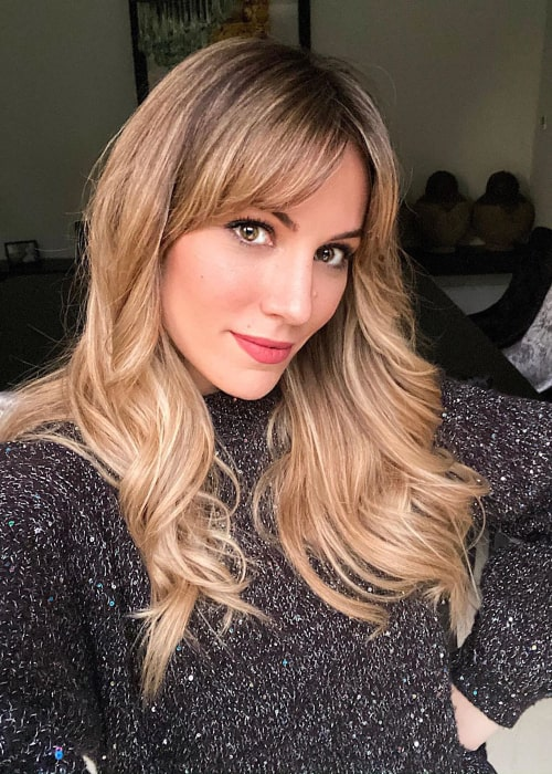Edurne García Almagro in an Instagram selfie from March 2020