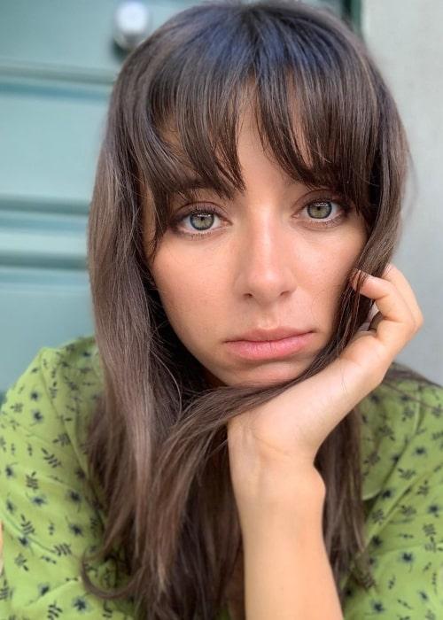 Elizabeth Cappuccino as seen in a selfie taken in March 2020