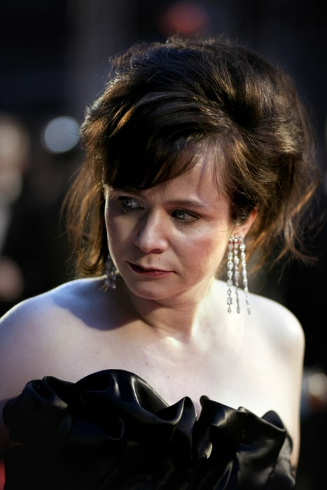 Emily Watson as seen at the Orange British Academy Film Awards in London's Royal Opera House in February 2007