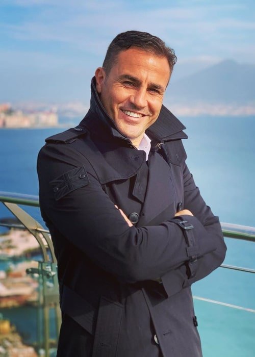 Fabio Cannavaro as seen in an Instagram Post in February 2020
