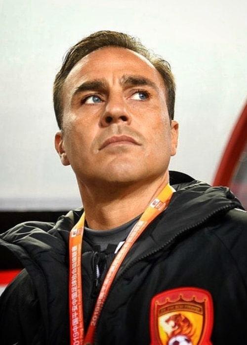 Fabio Cannavaro as seen in an Instagram Post in November 2019