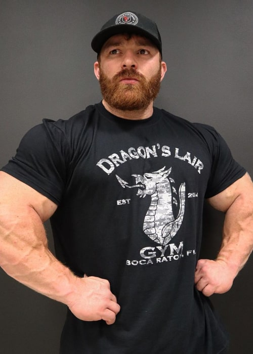 Flex Lewis as seen in an Instagram Post in April 2020