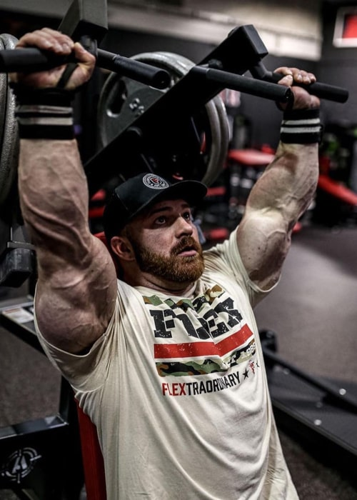 Flex Lewis as seen in an Instagram Post in January 2020