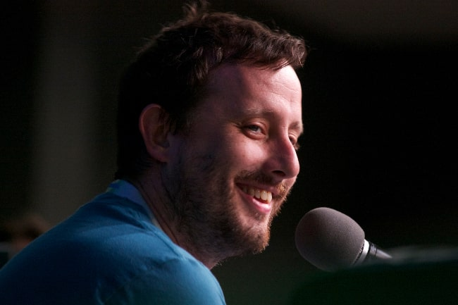 Geoff Ramsey pictured while smiling during an event in July 2013