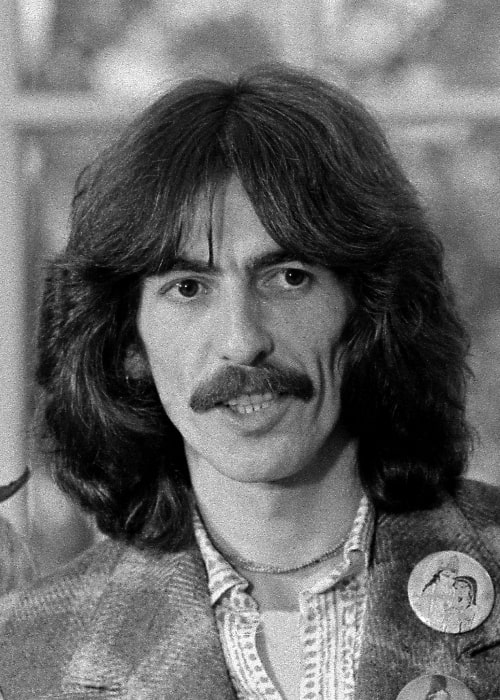 George Harrison in the Oval Office during the Ford administration in December 1974