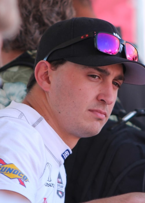 Graham Rahal as seen in a picture taken at the Sonoma Raceway on August 23, 2014