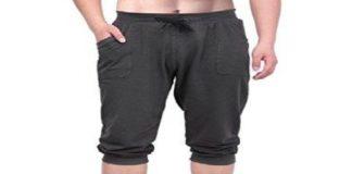 HDE Men's ¾ Yoga Capri Pants Review