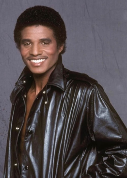 Jackie Jackson as seen while smiling for the camera