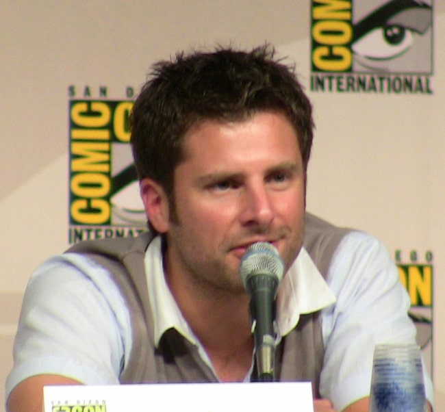James Roday at the 2009 San Diego Comic-Con International in San Diego, California