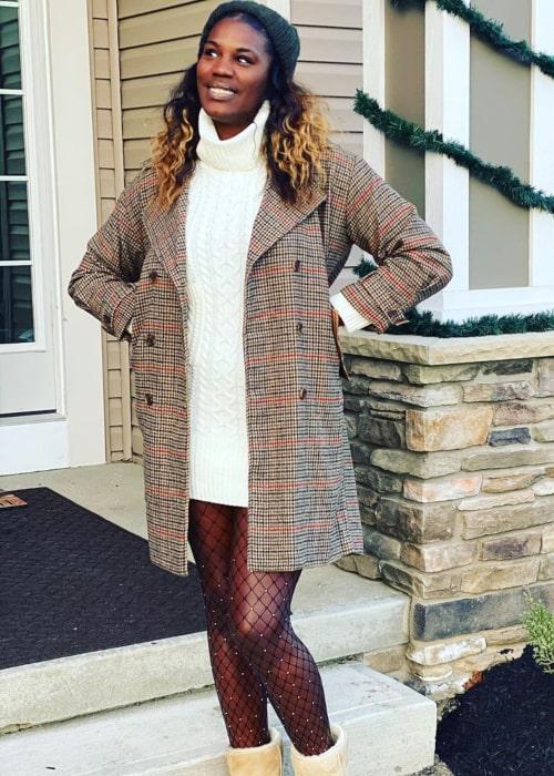 Jantel Lavender as seen in an Instagram Post in December 2019