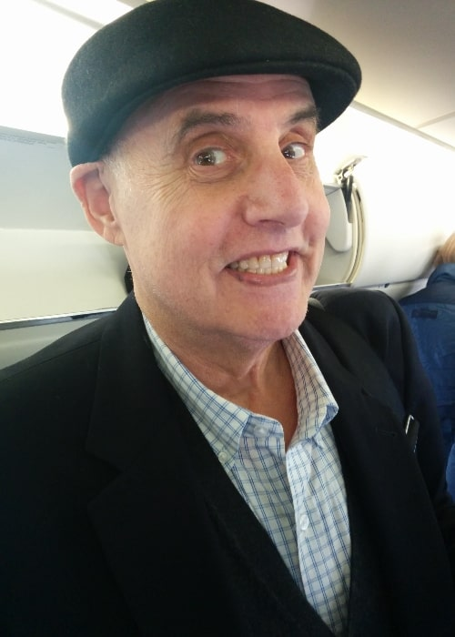 Jeffrey Tambor as seen on the Delta Shuttle in February 2014