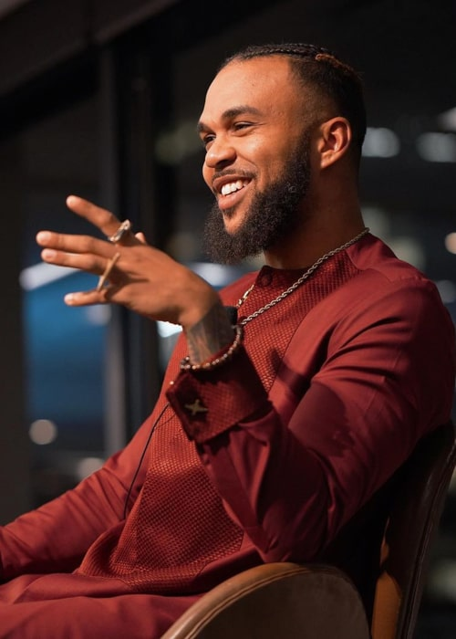 Jidenna as seen in an Instagram Post in January 2020
