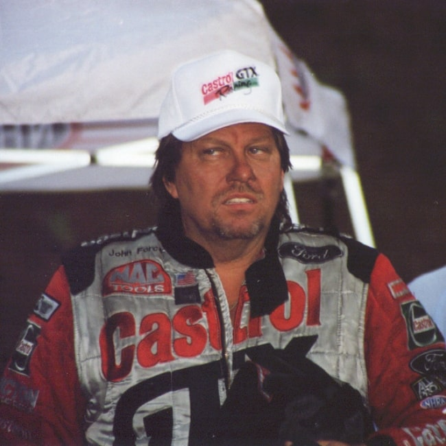 John Force as seen in a picture taken on August 16, 2007