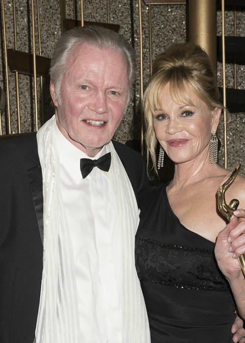 Jon Voight and Melanie Griffith as seen in February 2016