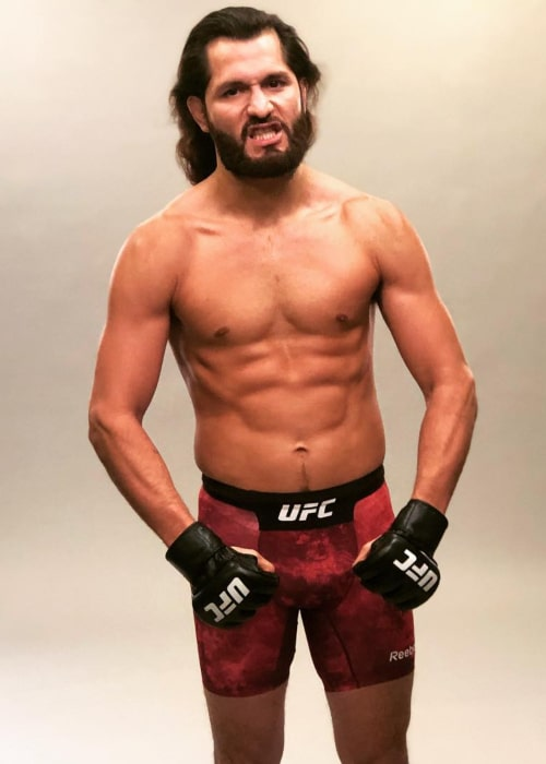 Jorge Masvidal as seen in an Instagram Post in March 2019
