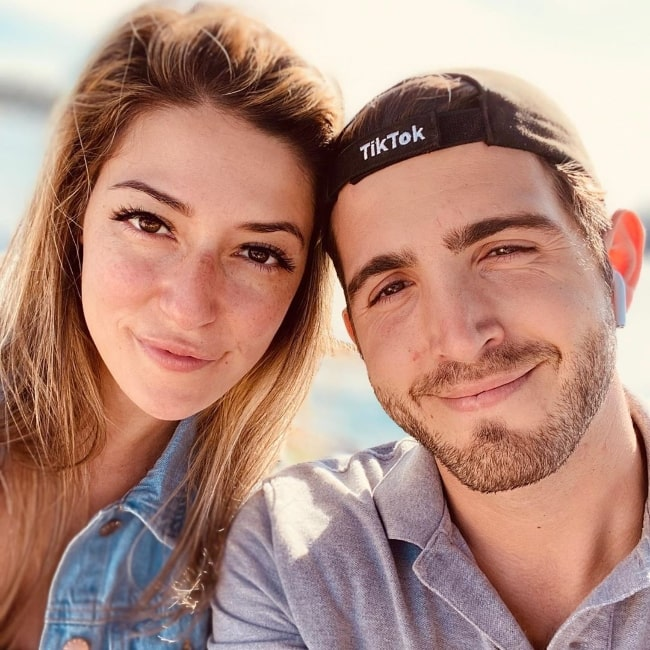 Josette Pimenta smiling in a picture alongside Dominic DiTanna