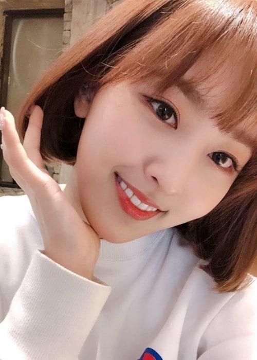 Jungwoos of BVNDIT as seen in a selfie taken in March 2019