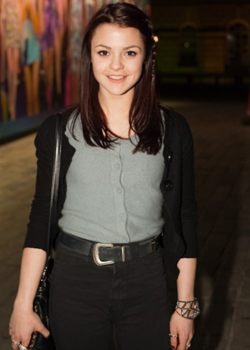 Kathryn Prescott as seen in a picture taken while attending the London Fashion Week 2010 on February 20