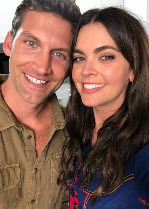 Katie Lee and Ryan Biegel as seen in October 2019