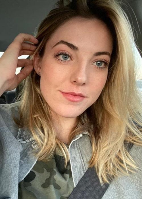 Katie Lou Samuelson as seen in a selfie taken in November 2019