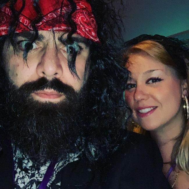 Keemstar and his beau Melissa as seen in a selfie taken in November 2018