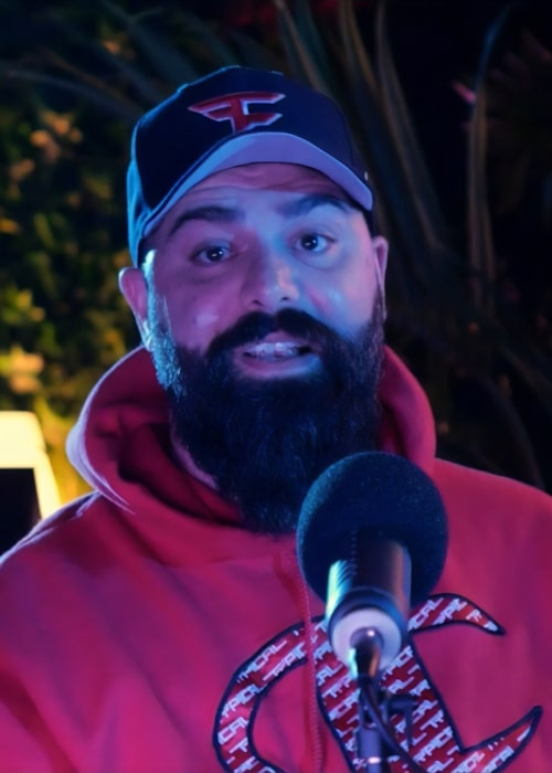 Keemstar as seen in a screenshot from his time on on Cold Ones in February 2020