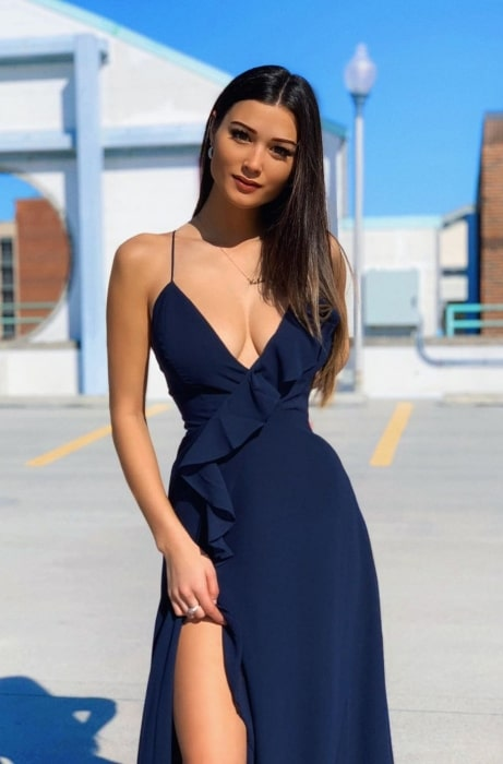 Keilah Kang as seen while posing for a picture in March 2020