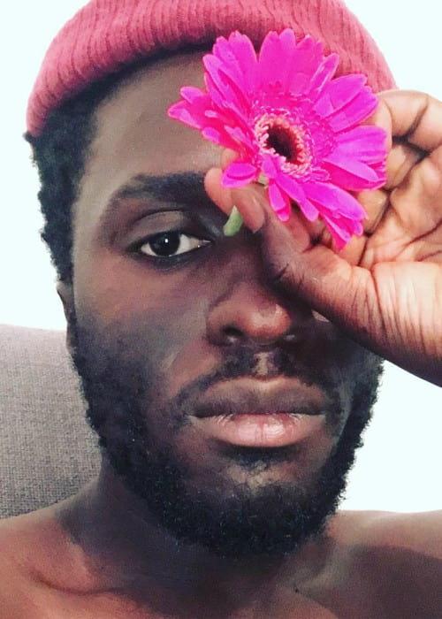Kwabs in an Instagram selfie as seen in August 2018